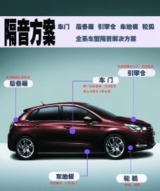 汽车隔音方案图片