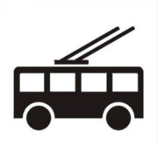 无轨电车图片