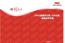 Picc合作方案封面封底图片