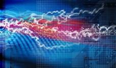 电流抽象图图片