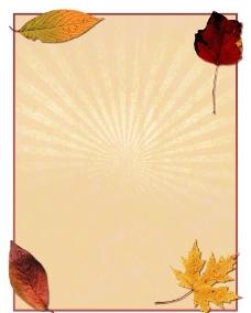 秋季传单图片