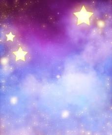 浪漫背景 星星图片