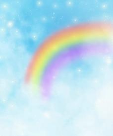 彩虹 星星图片