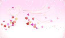 粉色背景图图片
