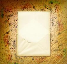 划线背景 信封图片