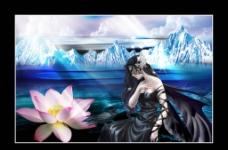 仙女风景图片