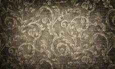 怀旧复古花纹背景图片