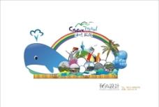 海峡旅游彩车设计图片