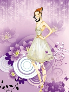 时尚女郎图片