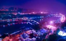 杭州夜景图片