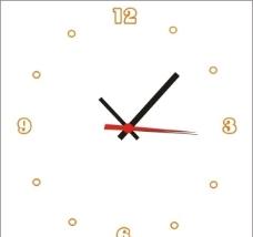 简笔画时钟图片