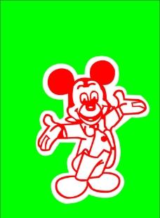 米老鼠矢量圖片
