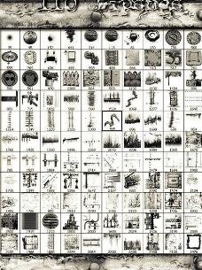 国外设计师一流笔刷包图片