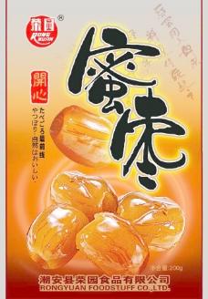 蜜枣包装图片