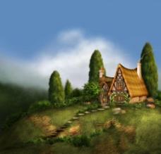 童话背景图片