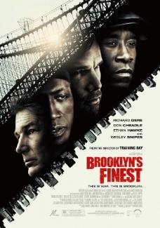 电影海报 BROOKLYN S FINEST 布鲁克林警察图片