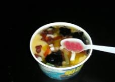 杂粮冰粥图片