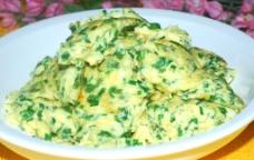韭菜煎土鸡蛋图片