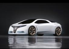本田 2011版 白色概念车图片