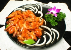 石蒸川汁虾图片