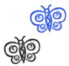 中国蝴蝶素材图片