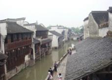 乌镇 古镇 水乡 江南 风景 流水 古屋 古建筑图片