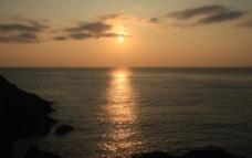 南棚日出图片