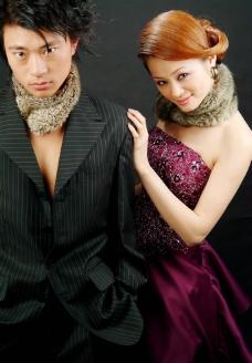 婚纱样片 朦胧的恋情图片