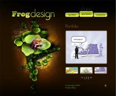 精美超酷设计网站模板图片