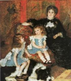 孩子与妇人图片