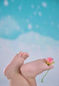 宝宝小脚图片