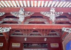 安溪文庙 吊筒图片
