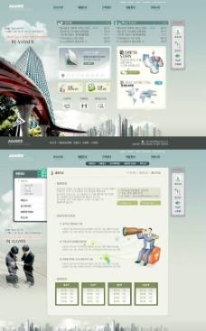 建筑集团有限公司网站界面图片