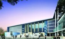 广州大学城图书信息中心图片