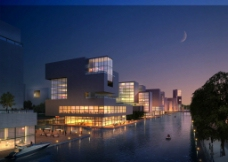 建筑设计效果图图片