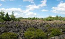五大连池火山岩图片