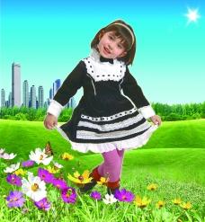 童装宣传海报 画册封面图片