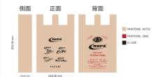 胶袋背心袋CDR设计图图片