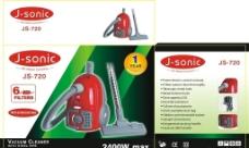 吸尘器包装设计图片