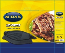 烤肉机包装设计图片
