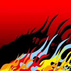 火焰 烈火 矢量图