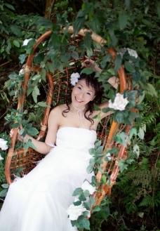 婚纱样片 春天的摇篮图片
