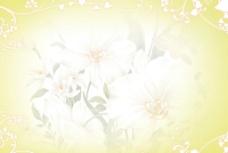 浪漫花背景图片