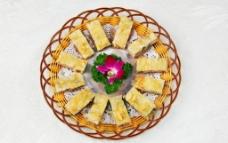 香百花饼图片
