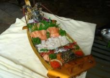 龙虾刺身图片
