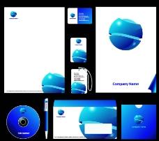 企業VI模板矢量素材圖片