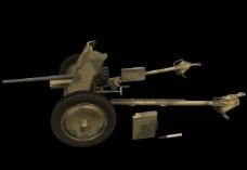 PAK 37自行火炮三维模型图片