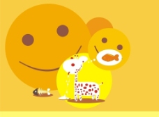 我爱小鱼饼干图片