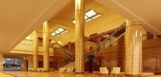 五星级酒店大厅 3dsmax模型图片