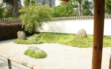 杭州某小区的日式景观设计实景图片